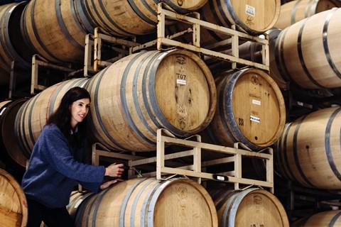 Samantha Sheehan found her wine 'wonderful - no more corked or strange off-bottles'
